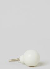 H & M - Knott i marmor - Hvit