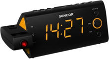 DAB bærbar radio SRC 330 OR - clock radio - FM - Orange