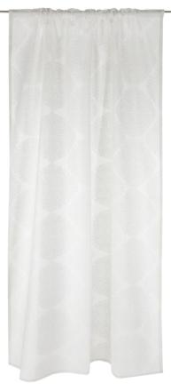 Hiutale fancy -verho, white