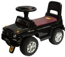 Gåbil sort Jeep med lyd - Længde 65cm