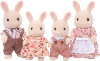 Sylvanian Families Familien - Den hvide hare Familie