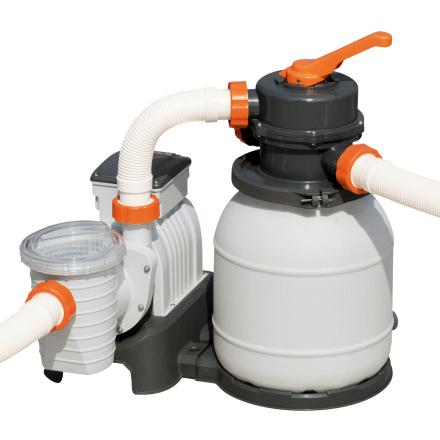 Bestway Flowclear sandfilterpump till ovanmarkpool - 1100-42300 liter