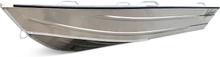 Kraftig aluminiumbåt för 4 passagerare - 3,8m