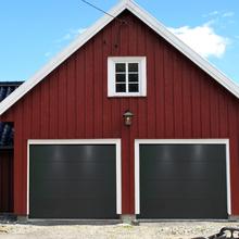 Garageport med motor - 2500x2125mm | Antracitgrå