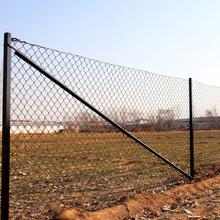 Villastängsel - komplett paket med 25 meter staket, höjd 1m