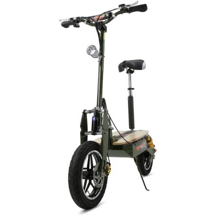 Elscooter 2000W Pro | 55+ km/tim | Army Green