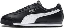 Roma Basic sportschoenen, Zwart/Wit/Zilver, Maat 36 | PUMA
