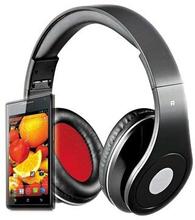 Rebeltec AudioFeel 2 Over-Ear Headset - Sort