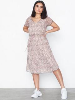 Jacqueline de Yong Jdyjennifer S/S Midi Frill Dress Wv
