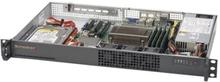 Supermicro SuperServer 5019S-L - Server - kan monteras i rack - 1U - 1-vägs - RAM 0 GB - ingen HDD - AST2400 - GigE - skärm: ingen