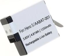 Kamerabatteri AABAT-001 till GoPro Hero5, Hero6, Hero7