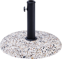 Aurinkovarjon jalusta pyöreä marmori