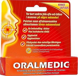 Oralmedic aftojen hoitoon