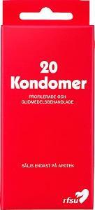 RFSU Kondomit, 20 kpl