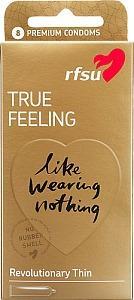 RFSU True Feeling, kondomit, 8 kpl