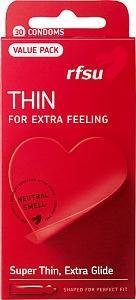 RFSU Thin, kondomit, 30 kpl