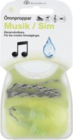 SwedSafe Musiikki / Uinti Korvatulpat Small, 1 pari