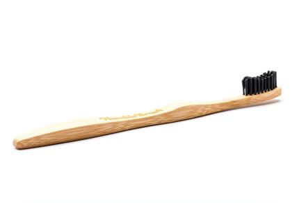 Humble Brush Bambu Tandborste Vuxen Svart, 1 st