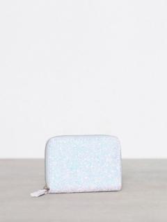 New Look Glitter Cardholder Plånböcker Pale Blue