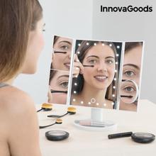InnovaGoods 4-i-1 Förstoringsspegel med LED-ljus