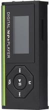 Mp3 Spelare Med Inbyggd Ficklampa - Grön Grön