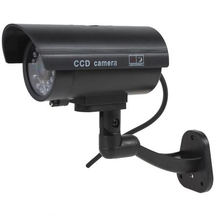 Kabalo realistisk forfalskning attrapp CCTV sikkerhetskamera blinke...