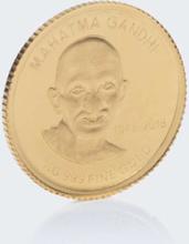 Goldmünze Mahatma Gandhi 2018