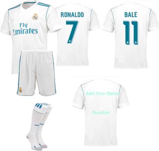 Real madrid 2018 fotbolls kläder