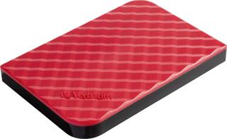 Verbatim Store n Go Ekstern harddisk 6,35 cm (2,5) 1 TB Rød USB 3.0