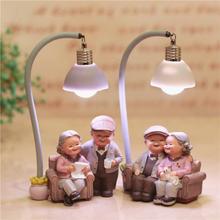 Kreative Paar Nachtlicht Ornamente Hochzeitstag Geschenk Wohnkultur Romantische Verzierung