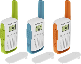 Motorola Solutions TALKABOUT T42 Triple PMR-handradio Set 3 st