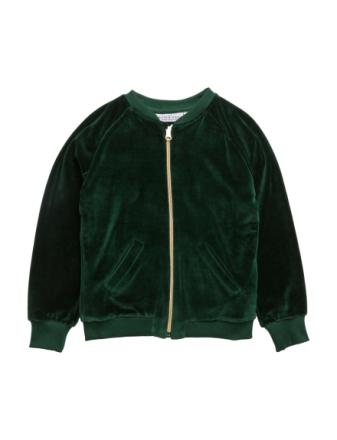 Bomber Jacket Gorillan Velvet Green - Boozt