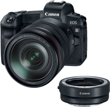 Canon EOS R Kit (Mount Adapter EF-EOS R) (RF 24-105mm f4L IS USM)