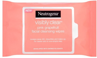 Neutrogena Cleansing Wipes Pink Grapefruit, 25 st