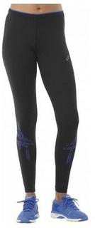 Sport leggins til kvinder Asics Asics Stripe Tight Sort L