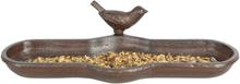 Esschert Design fuglebad brun støbejern BR25