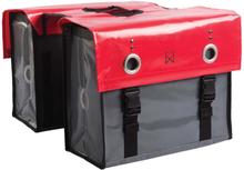 Willex Cykelväska 52 L röd och mörkgrå 10929