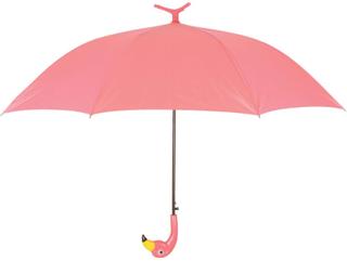 Esschert Design Paraply Flamingo 98 cm rosa TP194