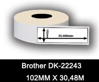 Brother kompatible labels DK-22243