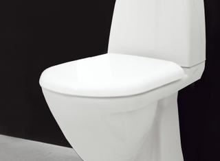 Toalettsits Svedbergs 90141 till toalett 9082/9085/9087 vit
