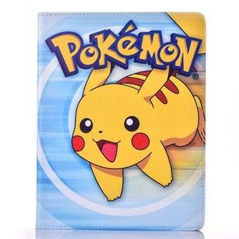 Pokemon etui til iPad 2/3/4 - Pikachu Pokemon, Blå - Coolpriser