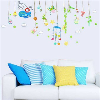 TipTop Wallstickers Ocean House Pattern