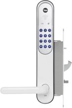 Dörrlås Elektroniskt Yale Doorman V2N Vit Komplett