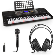 Etude 450 inlärnings-keyboard-set hörlurar mikrofon adapter
