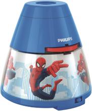 Nattlampa Philips Led Spindelmannen