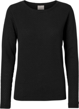 VERO MODA Texture Pullover Women Black