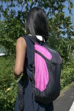 Mini Backpack Plus Musta/Pinkki