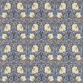 William Morris Pimpernel Indigo/Hemp Tyg
