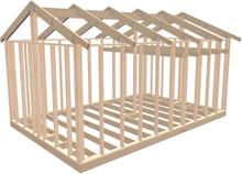 Byggstommar i Mönsterås Attefallsstomme Classic AT_LV 226000