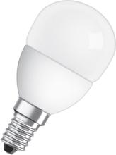 Led-Lampa Osram CLP25 E14 Klot 827 3,8W Dimbar Matt